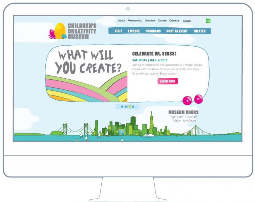 BKW Partners creates website SFO Creativity Museum