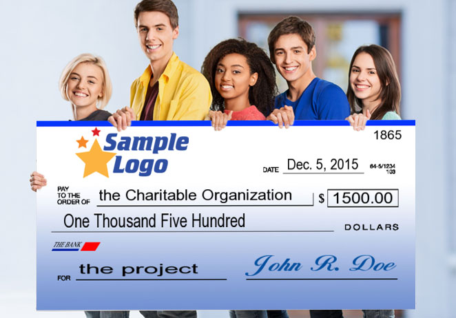 meredith's big check, Powerpoint templates